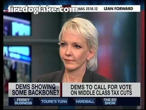 FireDogLake founder Jane Hamsher: leaderless Dems must force the GOP