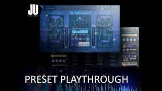 AetherArp & Venkatt by Audiofier Preset Playthrough (no talk)