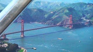 San Francisco, el Golden Gate y Alcatraz a vista de pájaro