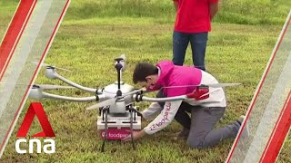 ST Engineering, Foodpanda developing drone to deliver food across Singapore screenshot 4