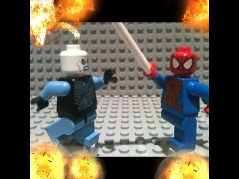 The amazing spiderman 2 trailer in lego youtube - Lego spiderman 2 ...