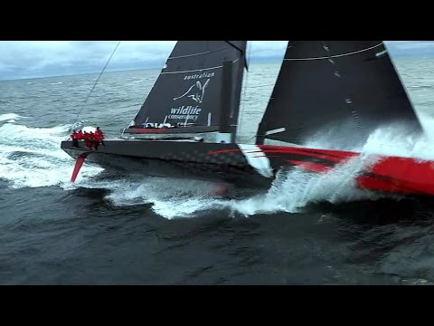 World on Water Nov 09.14 Global Boating News Show. Comanche Sailing, Carnage Route du Rhum, Moths
