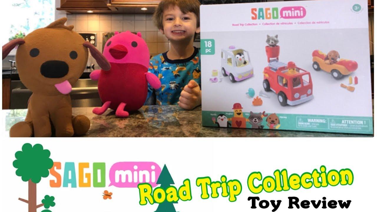 Vehicles Sago Mini Road Trip Collection