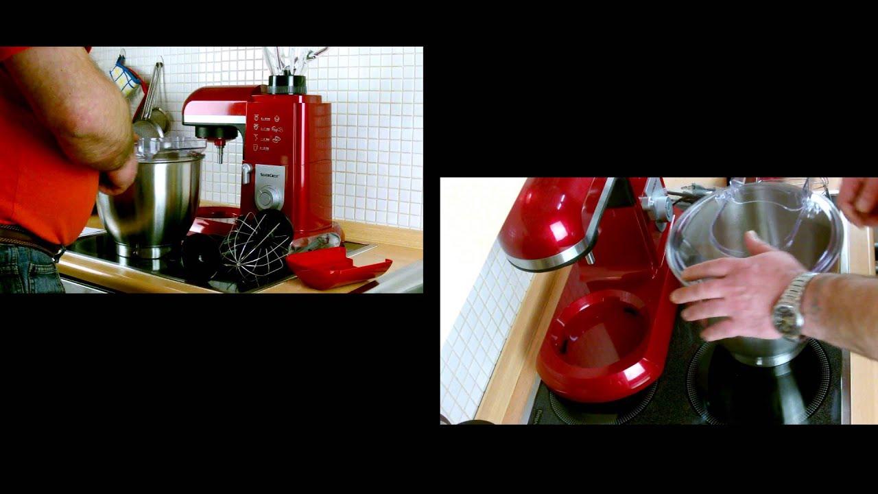 profi kchenmaschine silvercrest zwei perspektiven film - Silver Crest Kuchenmaschine