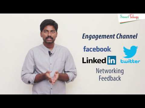 Types of Social Network Channels in Telugu