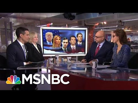 Where President Donald Trump's Kids Could Still Face Legal Danger | Velshi & Ruhle | MSNBC