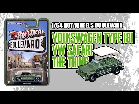 #107 Review Tanpa Unboxing Diecast Hot Wheels Boulevard Volkswagen Type 181 The Thing VW Safari