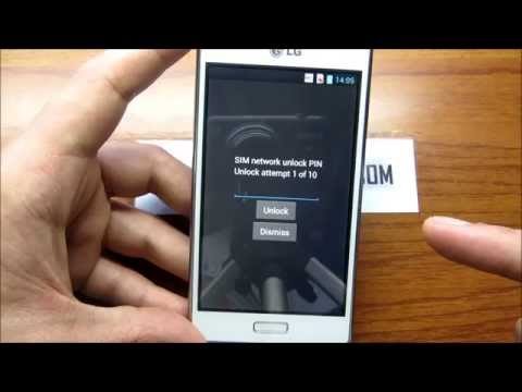 How To Unlock LG Optimus L7(P700-P705) and L7 II (P710-P715) By Unlock Code.
