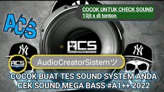 Download COCOK BUAT TES SOUND SYSTEM ANDA CEK SOUND MEGA BASS