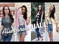 Fashion HAUL #2  - одежда, обувь, аксессуары с Aliexpress, NewDress