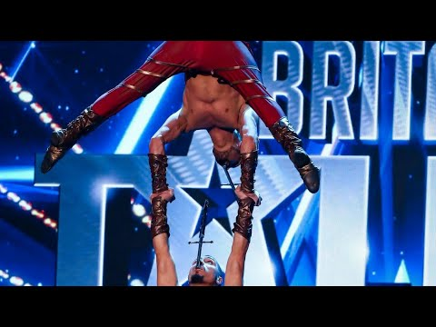 The Most Dangerous Act on Britain's Got Talent.   The Vardayan Brothers.