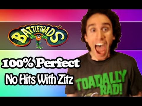 Battletoads (NES) 100% Perfect No Hits With Zitz TOADALLY LIVE By DTysonator!!