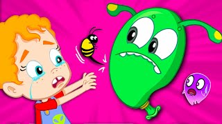 Groovy The Martian in a funny adventure with Phoebe - Full educational videos & Nursery Rhymes