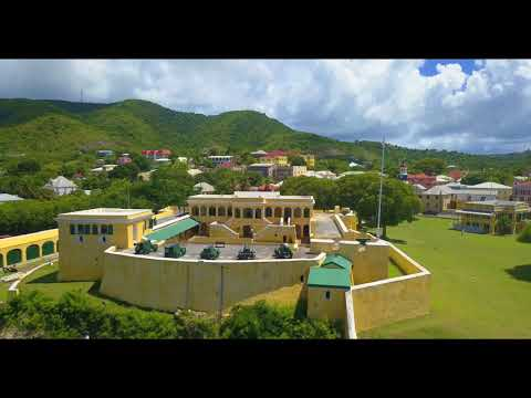 Buck Island and Christiansted, St  Croix USVI