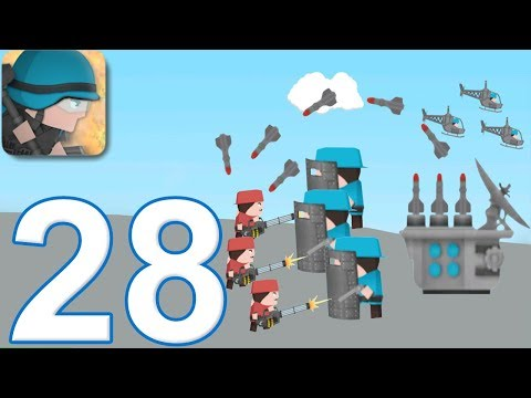 CLONE ARMIES - Walkthrough Gameplay Part 28 - LAUNCHER PvP Arena (iOS Android)