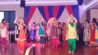 Giddha Performance 2014 (Mann Wedding)