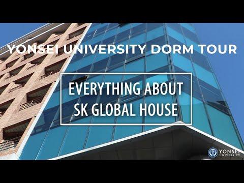 Yonsei University Dorm Tour (SK Global House In Seoul, Korea)