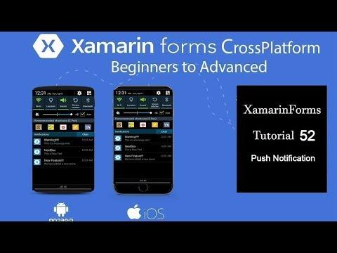 Xamarin Form App Center Push Notification Easy Way[Tutorial 52]
