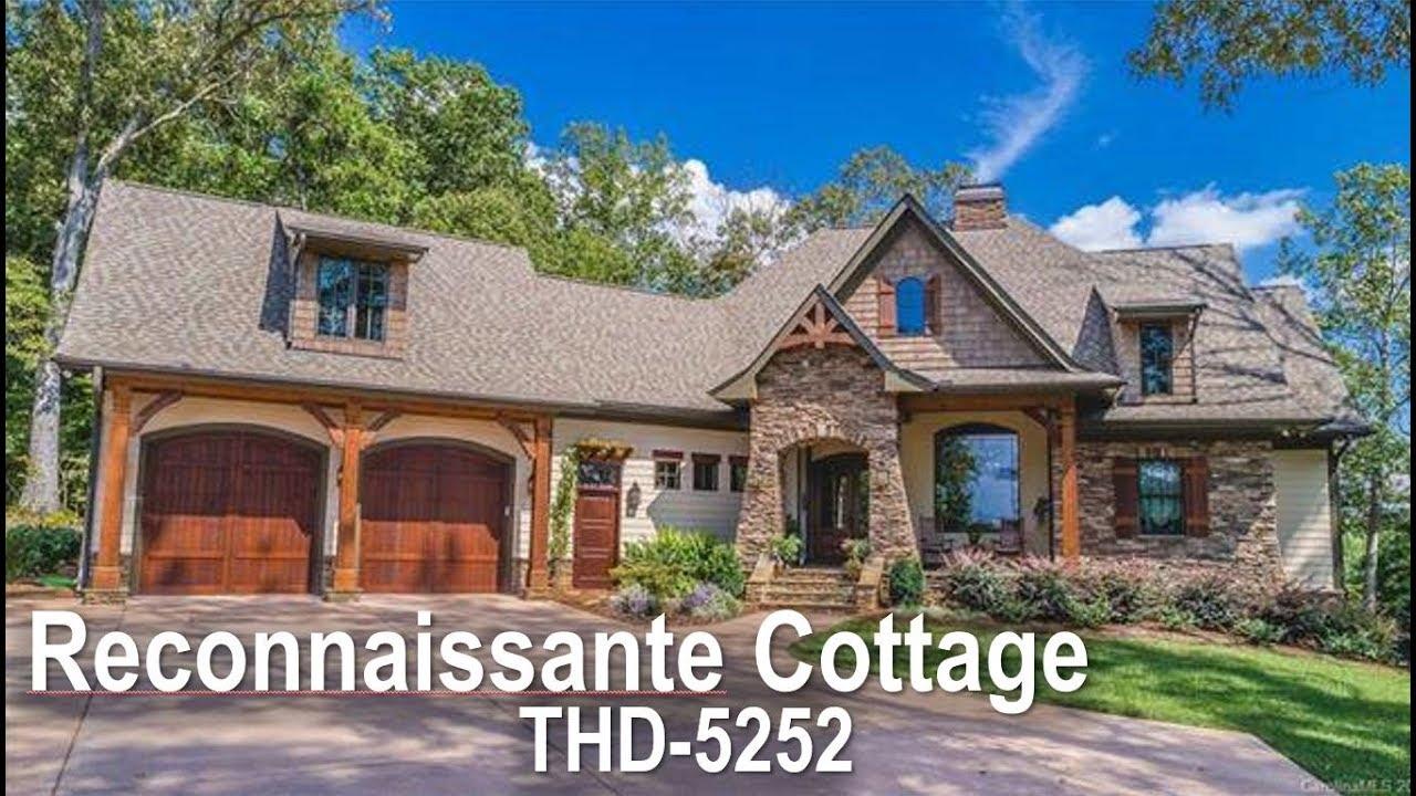 Tour Of Spacious Craftsman Cottage House Plan Thd 5252