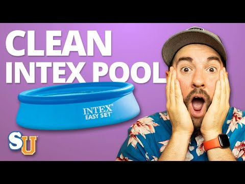 The BEST Way To Clean An INTEX or EasySet POOL | Swim University