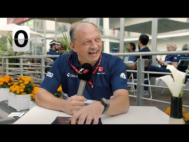 Saubers Frederic Vasseur | F1 Grill The Grid Team Bosses
