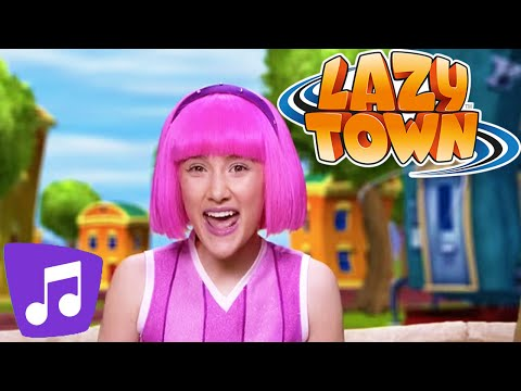 Lazy Town I We Got Energy Music Video