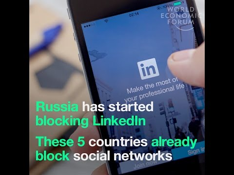 Russia has started blocking LinkedIn   These 6 countries already block social networks