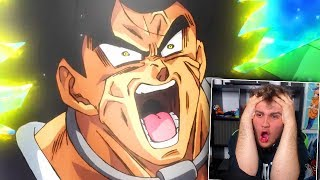 REACCION TRAILER 4 FINAL PELICULA DE DRAGON BALL SUPER : BROLY