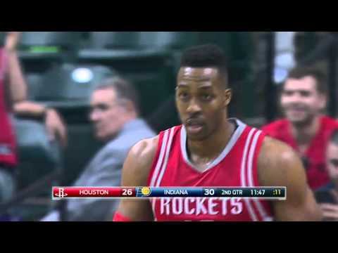 Houston Rockets vs Indiana Pacers | March 27, 2016 | NBA 2015-16 Season