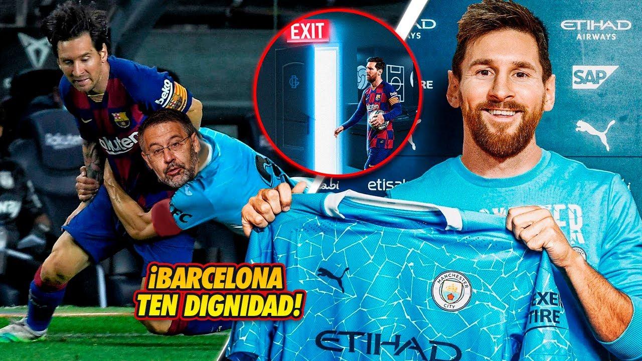 ¡BARCELONA TEN DIGNIDAD!, ¡Ni se te ocurra RETENER a Messi a la FUERZA!