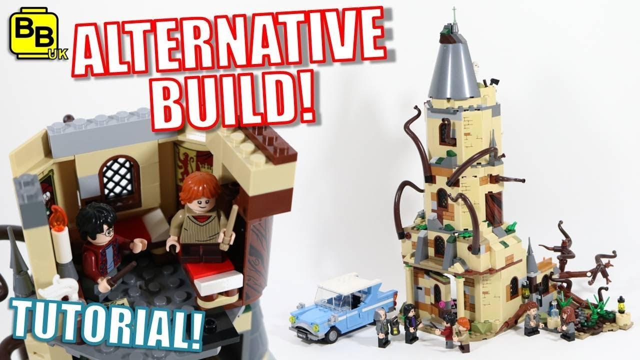 THE BURROW! LEGO HARRY POTTER 75953 ALTERNATIVE BUILD THE BURROW!
