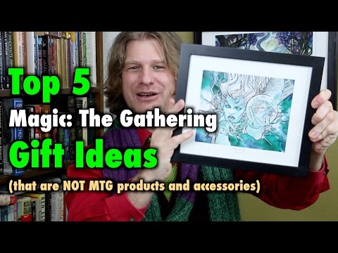 MTG - Top 5 Magic: The Gathering Gift Ideas that are NOT products and accessories