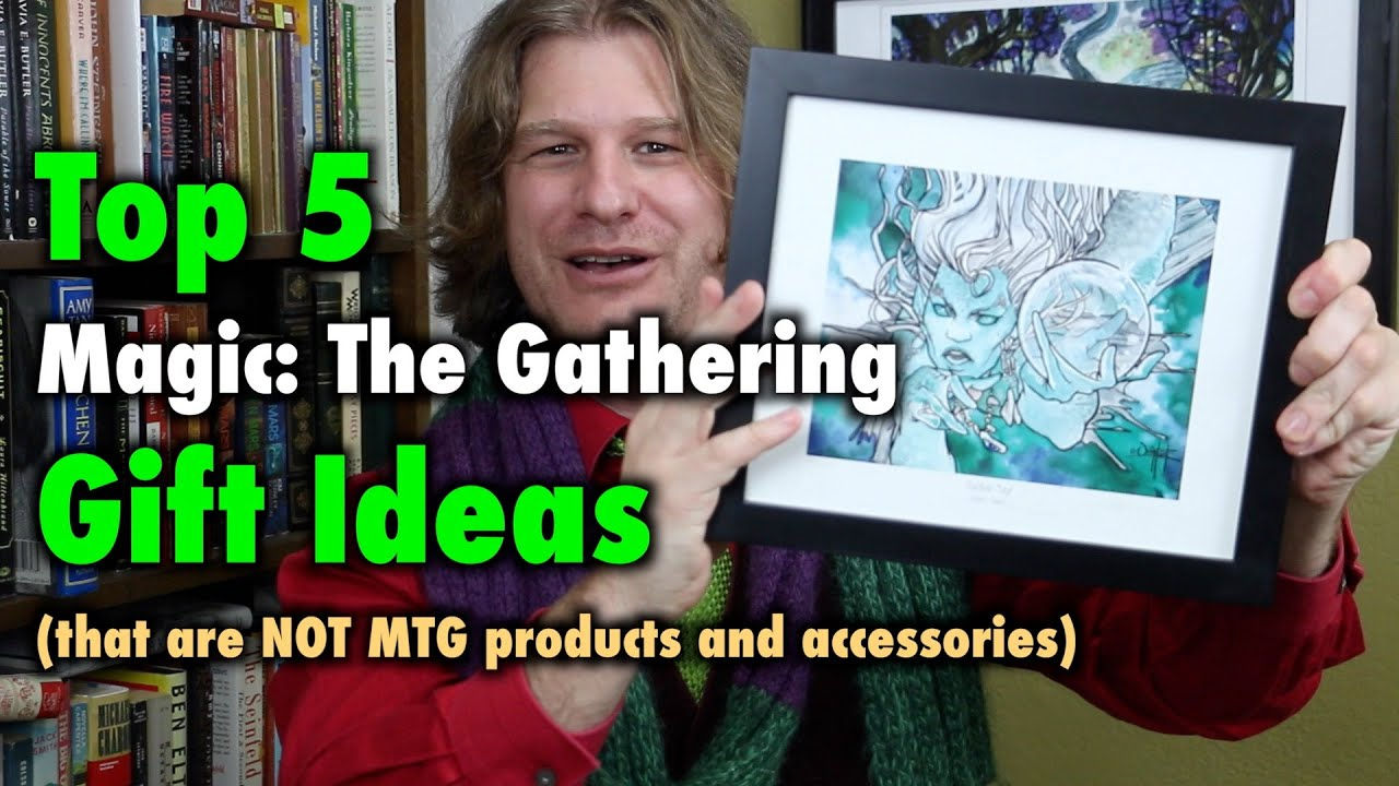 MTG - Top 5 Magic: The Gathering Gift Ideas that are NOT products ...
