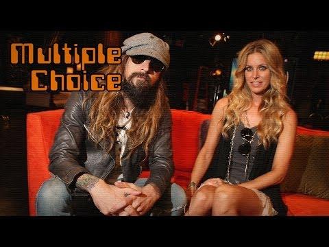 Rob Zombie und seine Frau Sheri Moon im Red Carpet-Interview! (Multiple Choice)