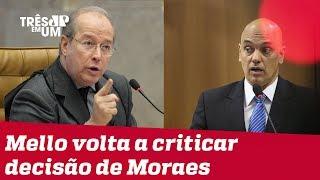 Ministros do STF reagem à censura imposta por Alexandre de Moraes