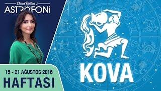 KOVA burcu haftalık yorumu 15 - 21 Ağustos 2016