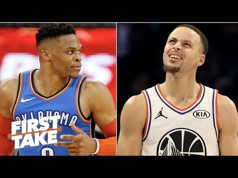 Russell Westbrook and Paul George can take down the Warriors – Stephen A. | First Take