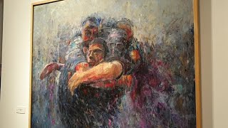 El abulense Javier Riaño gana el XX certamen de pintura Acor