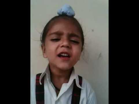 Indian National Anthem by cute Lil Punjabi baby Boy ...