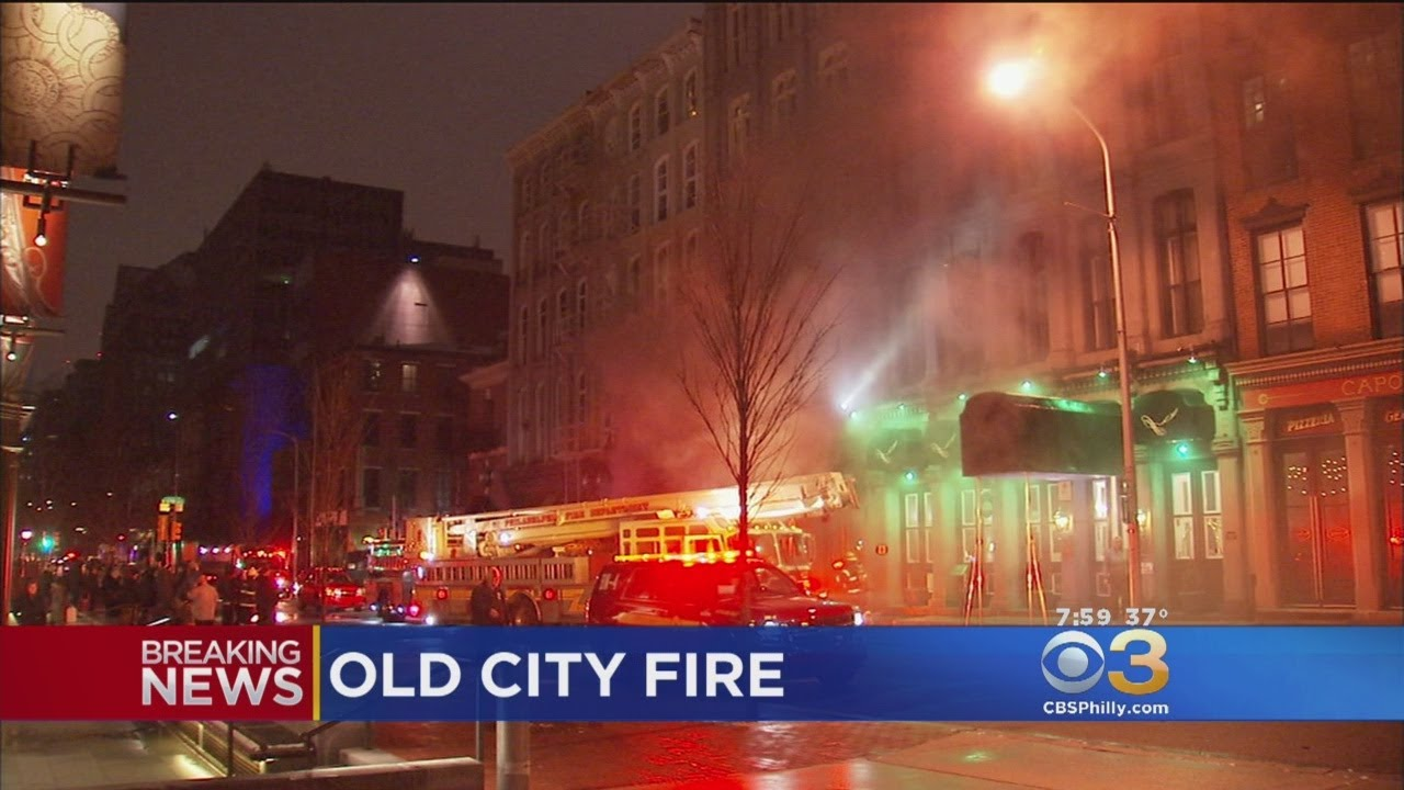 4-Alarm Fire In Old City Fire Under Control