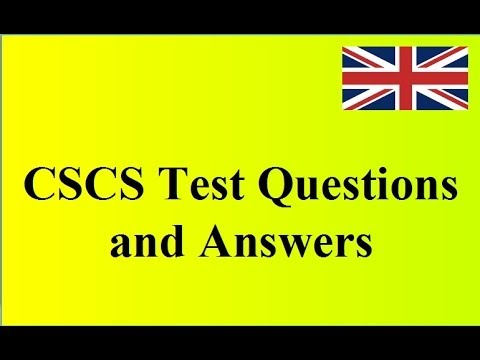 Cscs Test Passed Cscs Test How Do I Get Card
