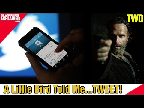 The Walking Dead A Little Bird Told MeTWEET!