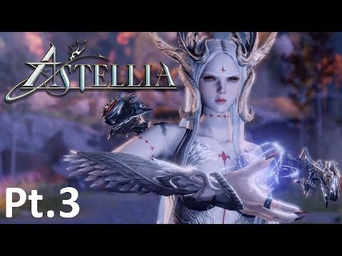 Astellia Online -New MMORPG Pt.3.Dungeon And Colosseum Run!!