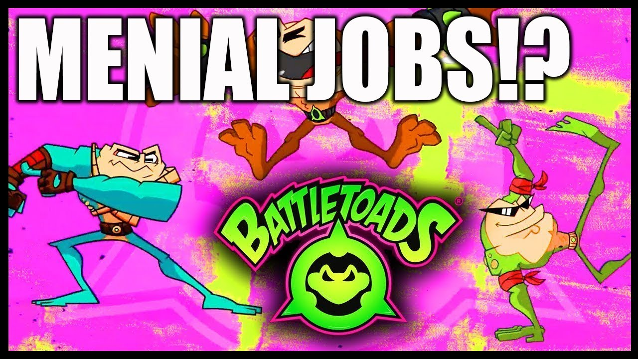 Battletoads Episode #2 - Using a Controller! - Menial Jobs? #Battletoads @Xbox