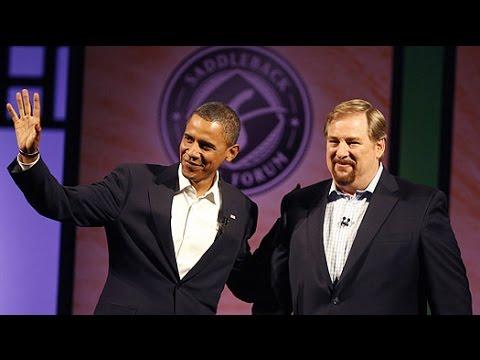 Saddleback Church Rick Warren interviews Barack Obama 2008