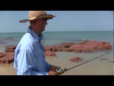 BARRAMUNDI FISHING AT THE BEACH1