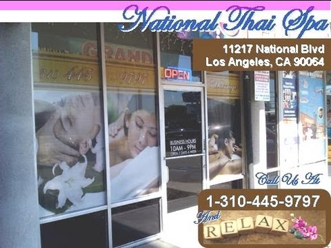 Real Thai Massage at National Thai Spa Massage West Los Angeles 1-310-445-9797
