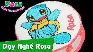 Pokémon GO - Bánh kem sinh nhật mẫu Rùa Kini cực kì dễ thương