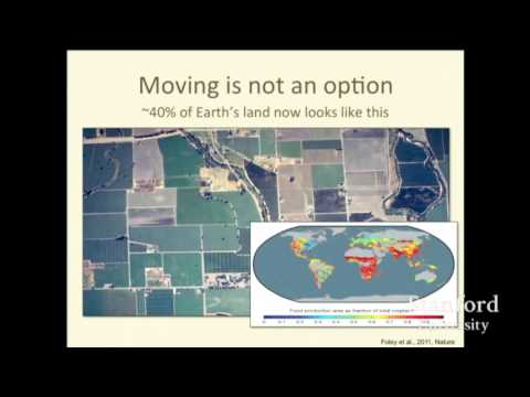 Tony Barnosky  | Energy production and the future of biodiversity