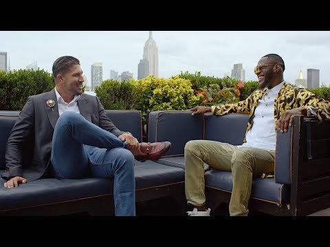 Brendan Schaub with Deontay Wilder | Wilder vs. Stiverne II - Nov. 4 on SHOWTIME